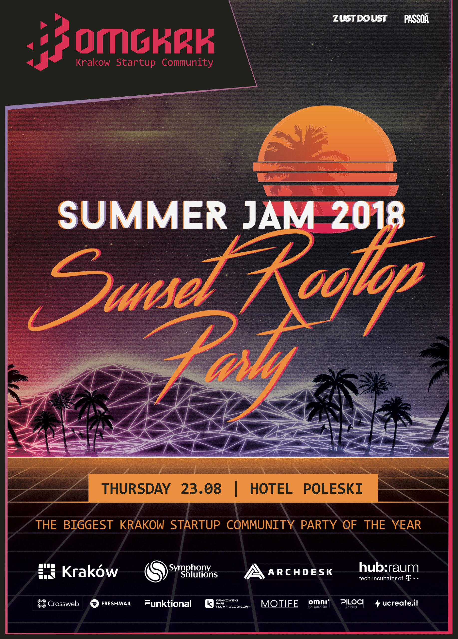 , Summer Jam 2018: Sunset Rooftop Party