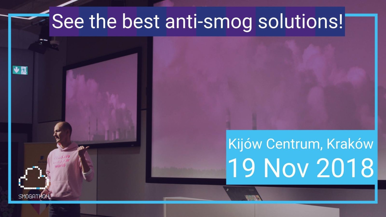 , The Pitch 5.11.18: Startup Weekend Krakow, Smogathon Grande Finale, Making Software & More!