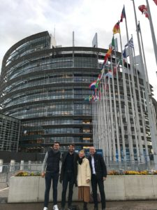 , Visit to the EU Parliament to Present the Challenges Facing Krakow's Startup Ecosytem