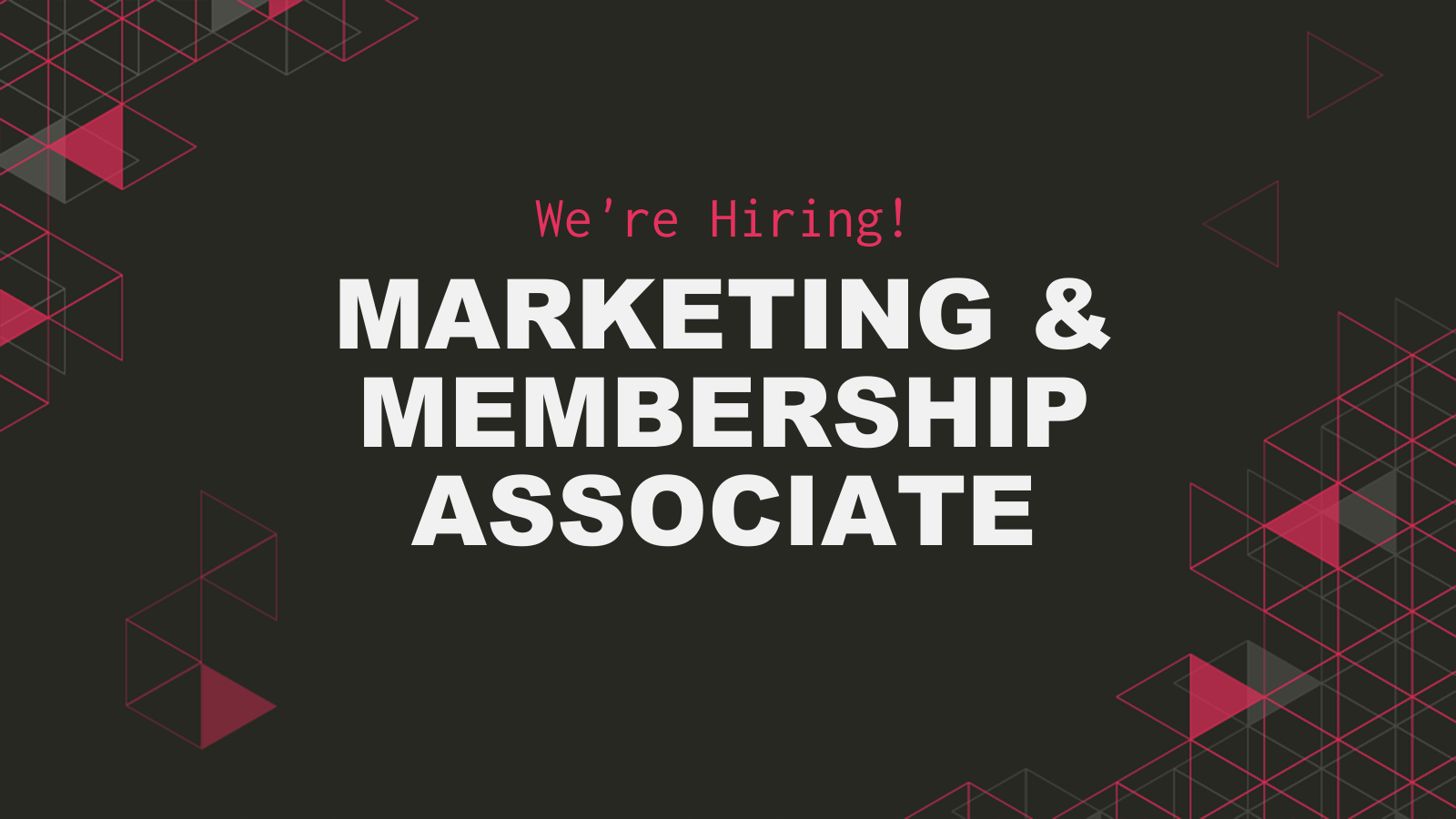 , Marketing & Membership Associate Opportunity With #OMGKRK