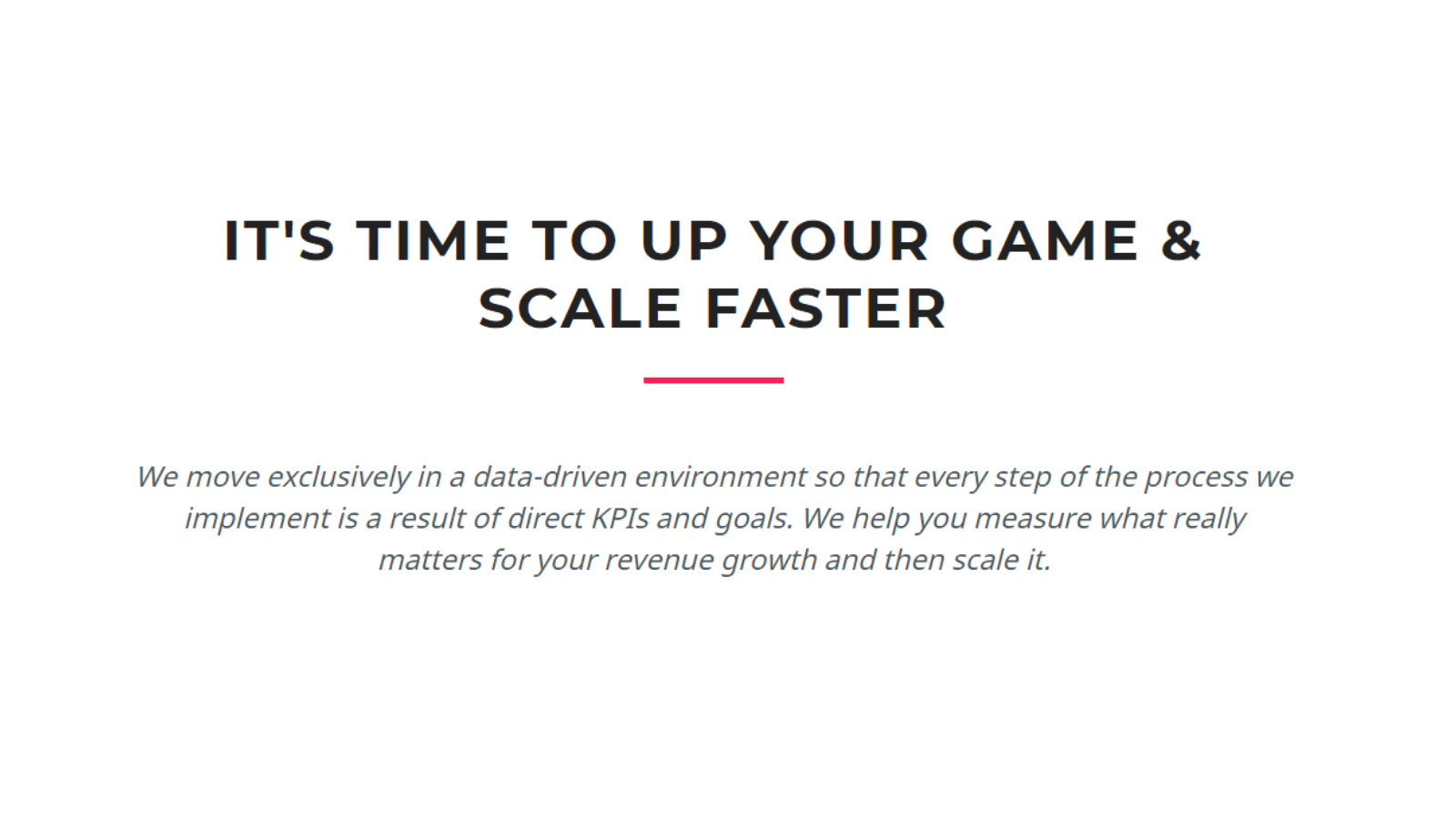 Scale your Sales, Scale Your Sales: A proven scale-up program for SaaS & IT companies