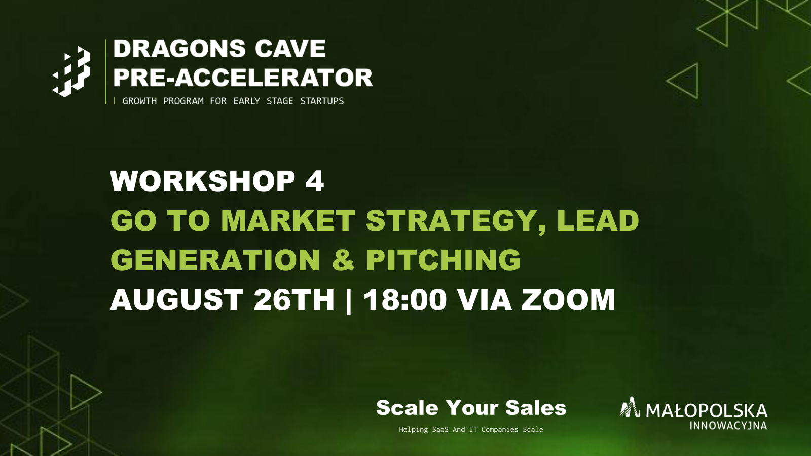, Go To Market Strategy, Lead Generation & Pitching