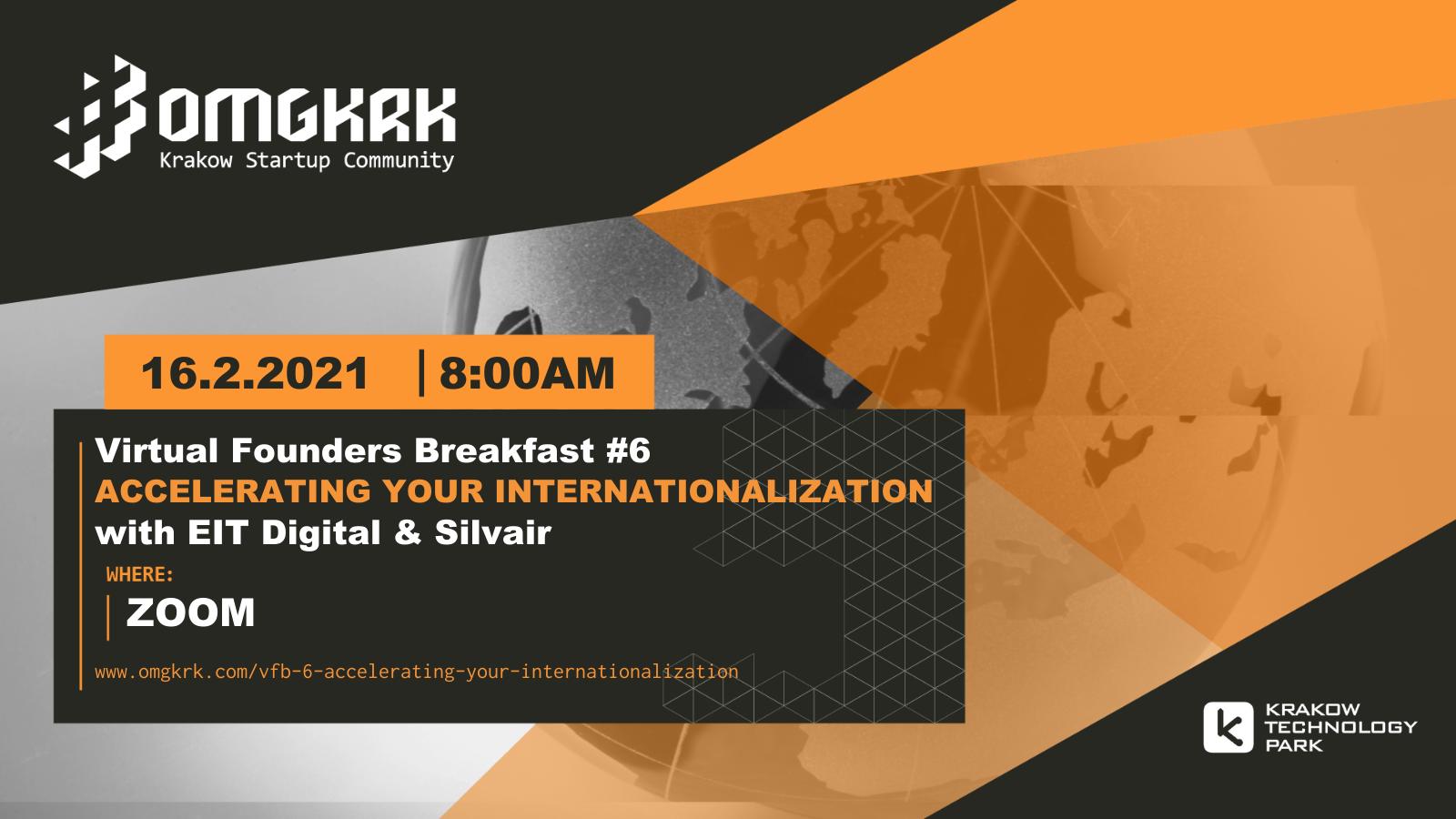 , Virtual Founders Breakfast #6: Accelerating Your Internationalization ft. EIT Digital & Silvair