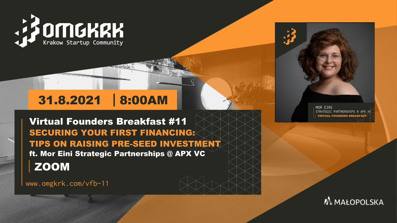 , Virtual Founders Breakfast #11: Tips On Securing Pre-Seed Financing ft. APX